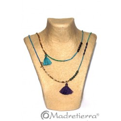 Collar piedra largo