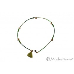 Collar piedra natural corto