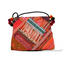 Bolso passport bordado